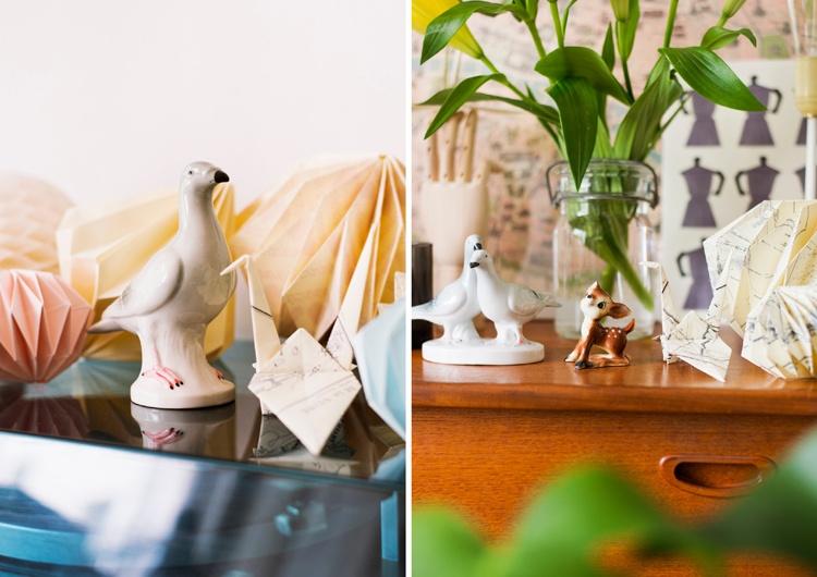 статуэтка,птица,комод,мелочи
