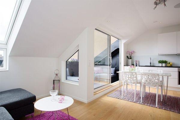 квартира,мансарда,45 кв, дизайн,интерьер