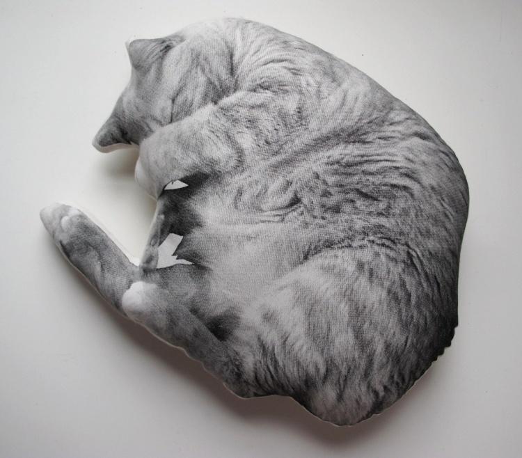кот обормот подушка