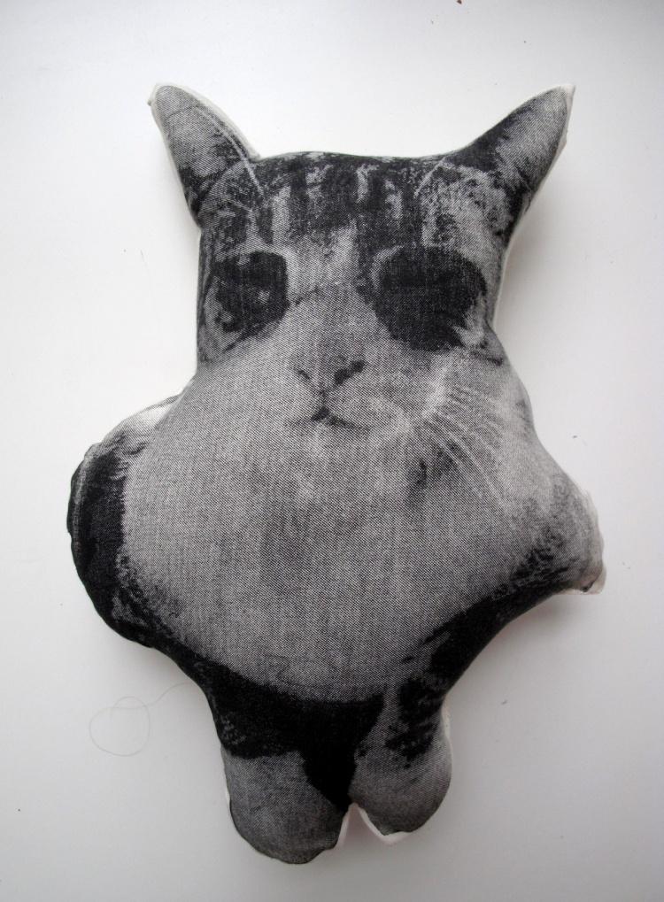 кот подушка, на заказ