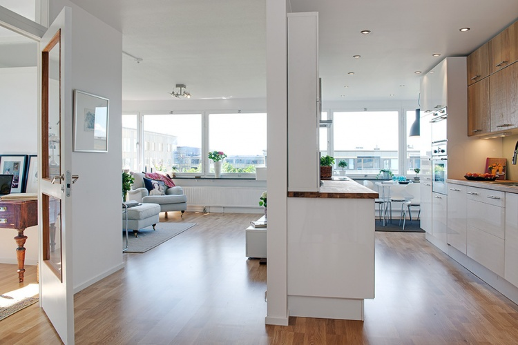 белая квартира,ремонт,фото,4х комнатная
