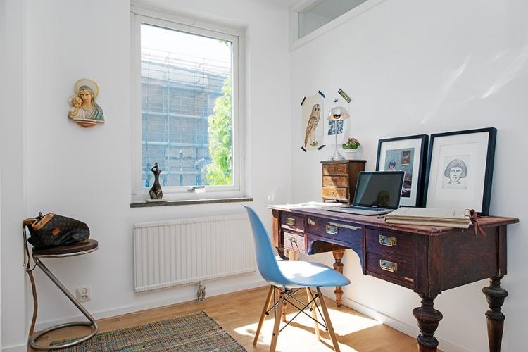 рабочий кабинет,домашний офис, письменный стол