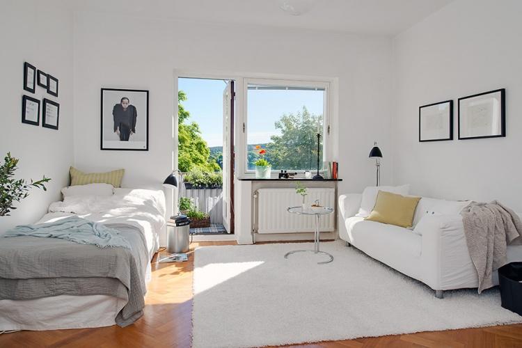 однушка,маленькая,квартира,26 м2, купить,снять,фото,окно,диван,стул