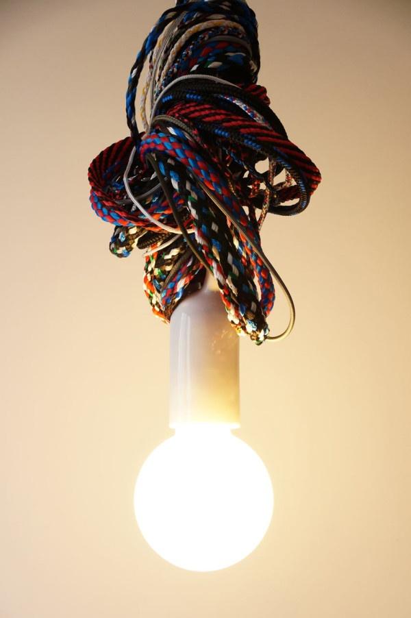 лампа,люстра,веревки