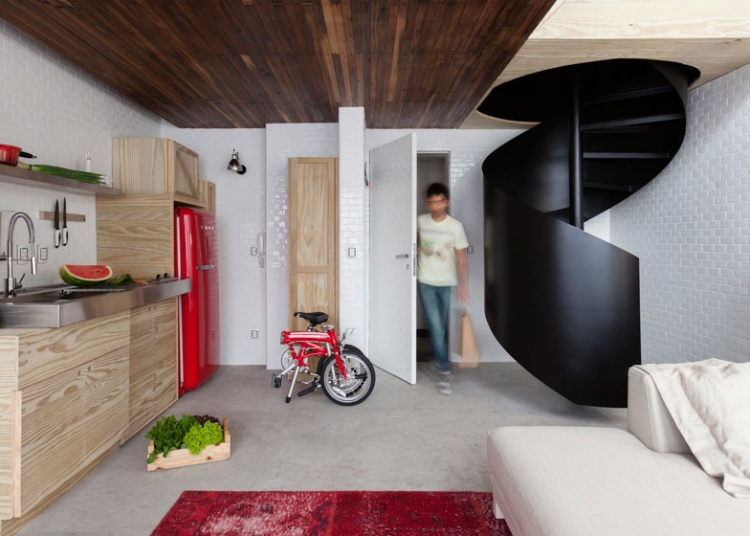 квартира,дерево,ящики,размещение,Бразилия,фото