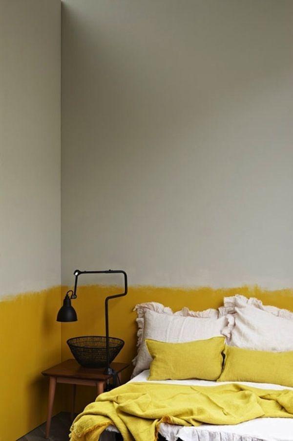 стена,желтая,половина,краска