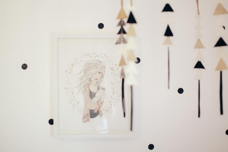 картина,стена,детская комната