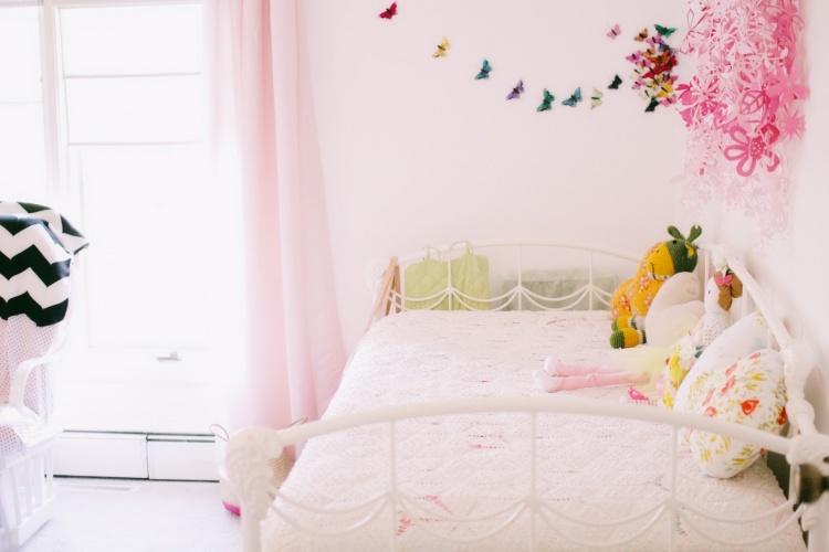 детская,розовая,кровать