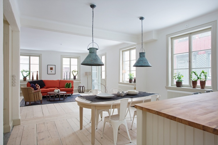 деревенский стиль,квартира,фото,интерьер квартиры,  гостиная