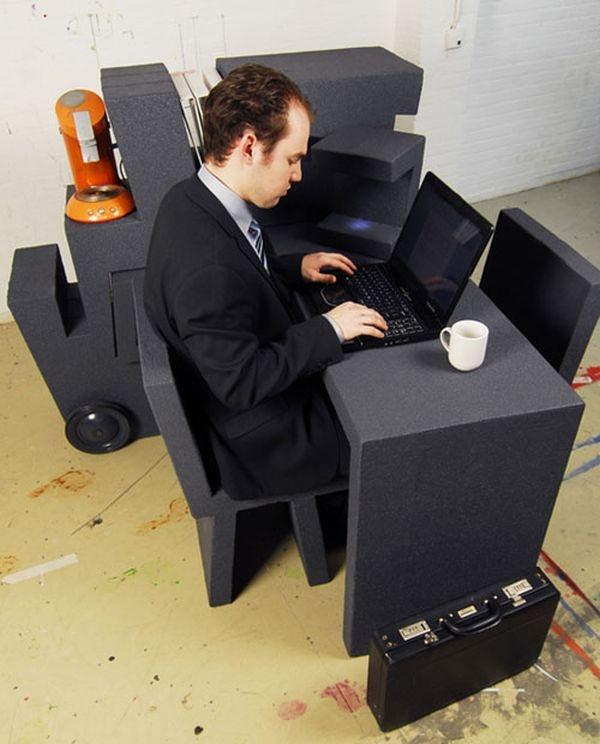 мобильный офис паззл,мебель для домашнего офиса,мебельный блог