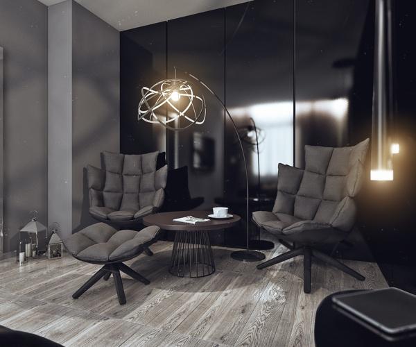 квартира,минимализм,холостяк,проект Алексеевой Ангелины, дизайн,интерьер