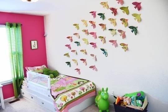 украшение стен, самолеты,птицы