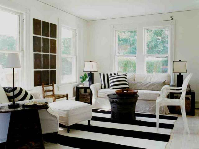 полоска,черное,белое,мебель,дизайн