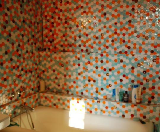 ванная плитка мозайка
