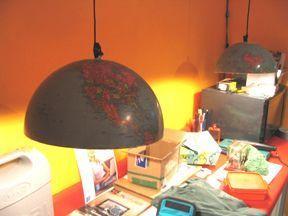 глобус,поделка,часы,идея