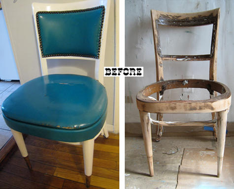 Реставрация старого стула своими руками фото до и после 56