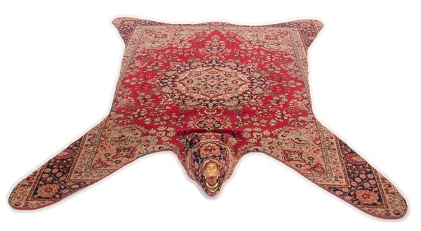 ковёр,медведь,шкура, персидский
