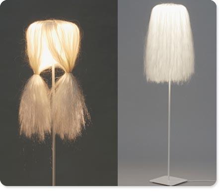 лампа,волос,дизайн
