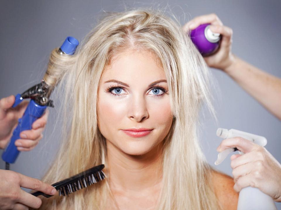 Спрей для укладки волос в домашних условиях