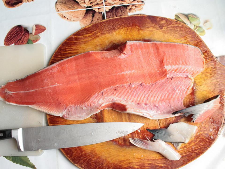 Рыба разделанная картинка