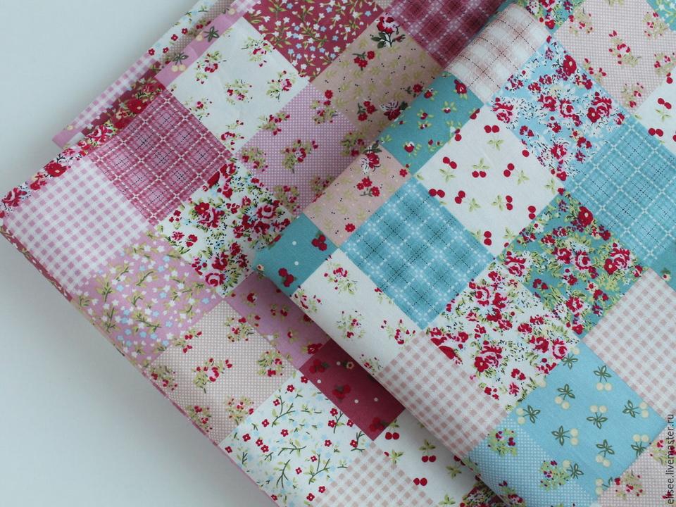 Ткани для пэчворка - какие выбрать и как сочетать ткани для лоскутного шитья.